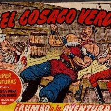 Tebeos: EL COSACO VERDE Nº 41 - MORA/COSTA - EDITORIAL BRUGUERA 1960/61 - ORIGINAL, NO FACSIMIL. Lote 11322057