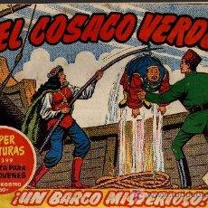 Tebeos: EL COSACO VERDE Nº 40 - MORA/COSTA - EDITORIAL BRUGUERA 1960/61 - ORIGINAL, NO FACSIMIL. Lote 11322078