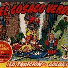 Tebeos: EL COSACO VERDE Nº 39 - MORA/COSTA - EDITORIAL BRUGUERA 1960/61 - ORIGINAL, NO FACSIMIL. Lote 11322088