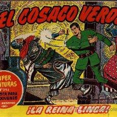 Tebeos: EL COSACO VERDE Nº 38 - MORA/COSTA - EDITORIAL BRUGUERA 1960/61 - ORIGINAL, NO FACSIMIL. Lote 11322096