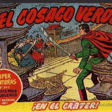 Tebeos: EL COSACO VERDE Nº 37 - MORA/COSTA - EDITORIAL BRUGUERA 1960/61 - ORIGINAL, NO FACSIMIL. Lote 11322100