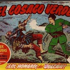 Tebeos: EL COSACO VERDE Nº 36 - MORA/COSTA - EDITORIAL BRUGUERA 1960/61 - ORIGINAL, NO FACSIMIL. Lote 11322115