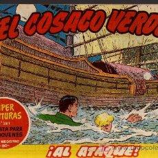 Tebeos: EL COSACO VERDE Nº 34 - MORA/COSTA - EDITORIAL BRUGUERA 1960/61 - ORIGINAL, NO FACSIMIL. Lote 11322144