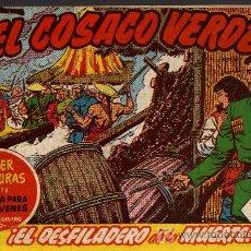 Tebeos: EL COSACO VERDE Nº 33 - MORA/COSTA - EDITORIAL BRUGUERA 1960/61 - ORIGINAL, NO FACSIMIL. Lote 11322163