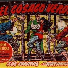 Tebeos: EL COSACO VERDE Nº 32 - MORA/COSTA - EDITORIAL BRUGUERA 1960/61 - ORIGINAL, NO FACSIMIL. Lote 11322195
