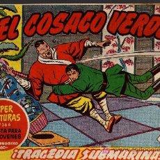 Tebeos: EL COSACO VERDE Nº 29 - MORA/COSTA - EDITORIAL BRUGUERA 1960/61 - ORIGINAL, NO FACSIMIL. Lote 11322241