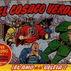 Tebeos: EL COSACO VERDE Nº 28 - MORA/COSTA - EDITORIAL BRUGUERA 1960/61 - ORIGINAL, NO FACSIMIL. Lote 11322254