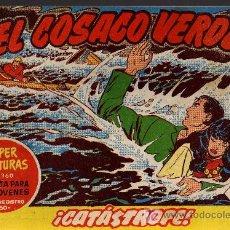 Tebeos: EL COSACO VERDE Nº 27 - MORA/COSTA - EDITORIAL BRUGUERA 1960/61 - ORIGINAL, NO FACSIMIL. Lote 11322267