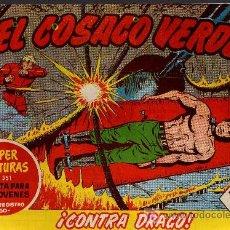 Tebeos: EL COSACO VERDE Nº 24 - MORA/COSTA - EDITORIAL BRUGUERA 1960/61 - ORIGINAL, NO FACSIMIL. Lote 11322304