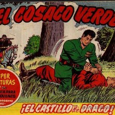 Tebeos: EL COSACO VERDE Nº 22 - MORA/COSTA - EDITORIAL BRUGUERA 1960/61 - ORIGINAL, NO FACSIMIL. Lote 11322353