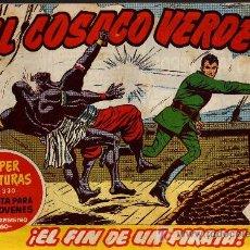 Tebeos: EL COSACO VERDE Nº 17 - MORA/COSTA - EDITORIAL BRUGUERA 1960/61 - ORIGINAL, NO FACSIMIL. Lote 11322520
