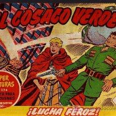 Tebeos: EL COSACO VERDE Nº 15 - MORA/COSTA - EDITORIAL BRUGUERA 1960/61 - ORIGINAL, NO FACSIMIL. Lote 11322541
