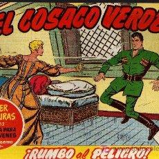 Tebeos: EL COSACO VERDE Nº 11 - MORA/COSTA - EDITORIAL BRUGUERA 1960/61 - ORIGINAL, NO FACSIMIL. Lote 11322569