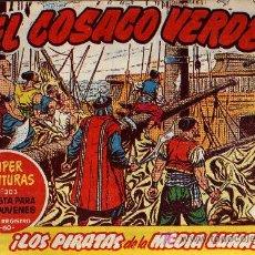 Tebeos: EL COSACO VERDE Nº 8 - MORA/COSTA - EDITORIAL BRUGUERA 1960/61 - ORIGINAL, NO FACSIMIL. Lote 11322603