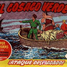 Tebeos: EL COSACO VERDE Nº 7 - MORA/COSTA - EDITORIAL BRUGUERA 1960/61 - ORIGINAL, NO FACSIMIL. Lote 11322613