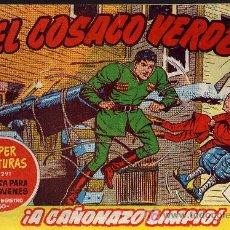 Tebeos: EL COSACO VERDE Nº 4 - MORA/COSTA - EDITORIAL BRUGUERA 1960/61 - ORIGINAL, NO FACSIMIL. Lote 11322673