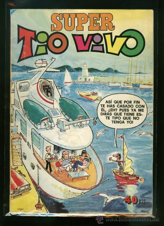 SUPER TIO VIVO Nº 79 - EDITORIAL BRUGUERA (Tebeos y Comics - Bruguera - Tio Vivo)