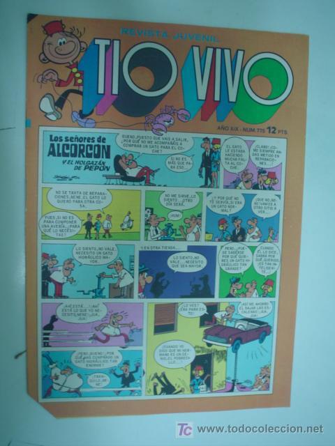 TIO VIVO Nº 775 TEBEOS EL ARCHIVISTA (Tebeos y Comics - Bruguera - Tio Vivo)
