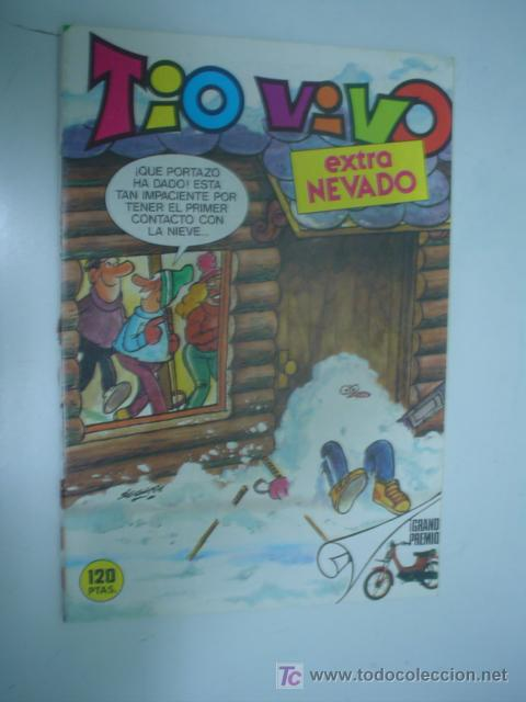 TIO VIVO: EXTRA NEVADO TEBEOS EL ARCHIVISTA (Tebeos y Comics - Bruguera - Tio Vivo)