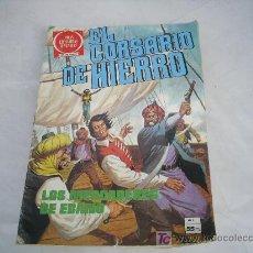 Tebeos: EL CORSARIO DE HIERRO Nº 3 SERIE ROJA.JOYAS LITERARIAS JUVENILES. Lote 25393149