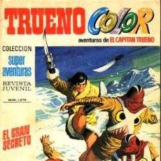 Tebeos: TRUENO COLOR, Nº 76. BRUGUERA EDITORIAL, 1970.. Lote 26584908