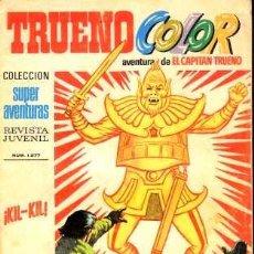 Tebeos: TRUENO COLOR, Nº 77. BRUGUERA EDITORIAL, 1970.. Lote 26584910