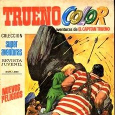 Tebeos: TRUENO COLOR, Nº 80. BRUGUERA EDITORIAL, 1970.. Lote 26584912