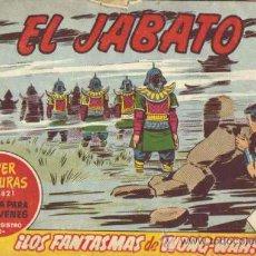 Tebeos: EL JABATO - N.º 281 - ¡LOS FANTASMAS DE WONG-WAH!. Lote 11695465