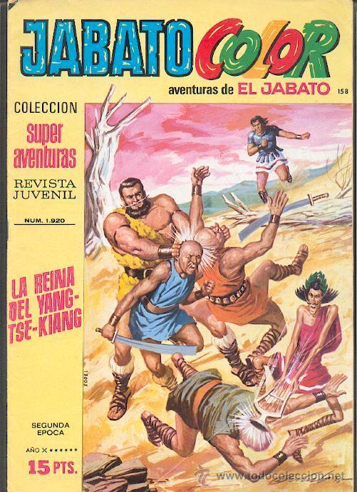 JABATO COLOR Nº158,COLECCIÓN SUPER AVENTURAS,ED.BRUGUERA (Tebeos y Comics - Bruguera - Jabato)
