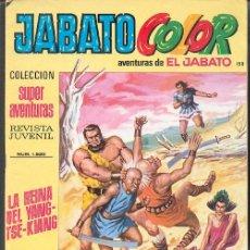 Tebeos: JABATO COLOR Nº158,COLECCIÓN SUPER AVENTURAS,ED.BRUGUERA. Lote 28031271