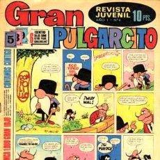 Tebeos: GRAN PULGARCITO Nº 4. EDITORIAL BRUGUERA. 1969 . Lote 19538307