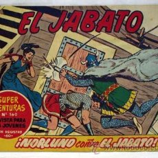 Giornalini: TEBEO JABATO Nº 176 NORLUNO CONTRA EL JABATO EDITORIAL BRUGUERA 1962. Lote 11835133