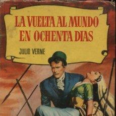 Tebeos: LA VUELTA AL MUNDO EN OCHENTA DÍAS. JULIO VERNE. COLECCIÓN HISTORIAS.1ª EDICIÓN. BRUGUERA 1957. Lote 21040432