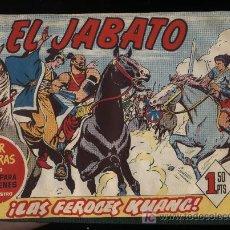 Livros de Banda Desenhada: EL JABATO. 20 EJEMPLARES CONSECUTIVOS (DEL Nº 148 AL 167). ENCUADENADO EN TOMO DE LUJO. Lote 37533425