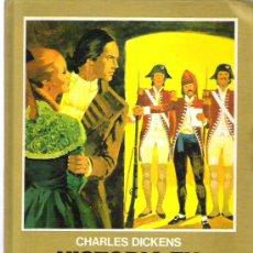 Tebeos: HISTOIA COLOR BRUGUERA - HISTORIA DE DOS CIUDADES ** CHARLES DICKENS 1973. Lote 11909916