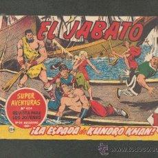 Tebeos: JABATO Nº124,ED.BRUGUERA. Lote 11919065