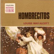 Tebeos: HOMBRECITOS. LOUISE MAY ALCOTT. COLECCION HISTORIAS COLOR. SERIE MUJERCITAS. BRUGUERA, 1975.. Lote 48835662