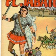 Tebeos: EL JABATO GIGANTE Nº 35, VER OTRAS IMAGENES DE PORTADA. Lote 22161692