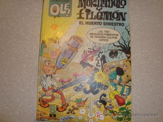 MORTADELO Y FILEMON - EL HUERTO SINIESTRO (Tebeos y Comics - Bruguera - Mortadelo)