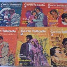 Tebeos: SELECCIÓN CORIN TELLADO, (ED. BRUGUERA, 1.983) LOTE DE 7 NOVELAS, Nº 1-2-4-5-6-11-12. Lote 26318998