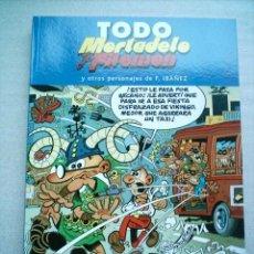 Tebeos: TODO MORTADELO TOMO 4 EDICIONES B 2005 CON 220 PAGINAS(DESC.50%). Lote 57576773