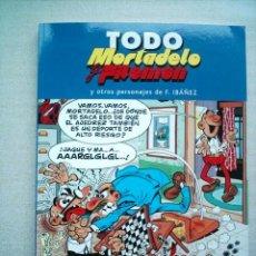 Tebeos: TODO MORTADELO TOMO 7 EDICIONES B 2005 CON 220 PAGINAS(DESC. 50%). Lote 74710011