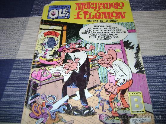 MORTADELO Y FILEMON, DISPARATES A GOGO, 1987 (Tebeos y Comics - Bruguera - Mortadelo)