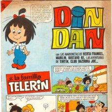 Tebeos: DIN DAN Y LA FAMILIA TELERIN Nº 8. Lote 27748248