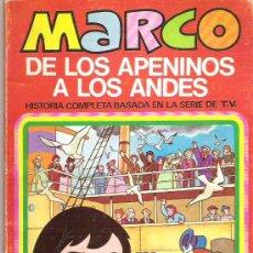 Tebeos: MARCO - DE LOS APENINOS A LOS ANDES ** Nº1 NO TE VAYAS MADRE ** 1977 BRUGUERA. Lote 12439001