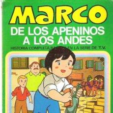Tebeos: MARCO - DE LOS APENINOS A LOS ANDES ** Nº3 MI AMIGO EMILIO ** 1977 BRUGUERA. Lote 12439026