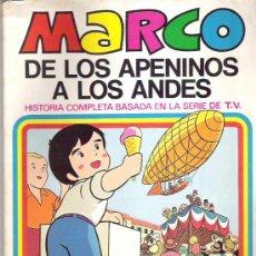 Tebeos: MARCO - DE LOS APENINOS A LOS ANDES ** Nº4 PERDONAME PAPA ** 1977 BRUGUERA. Lote 12439035