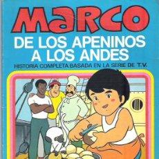 Tebeos: MARCO - DE LOS APENINOS A LOS ANDES ** Nº5 ADIOS , FIORINA ** 1977 BRUGUERA. Lote 12439047