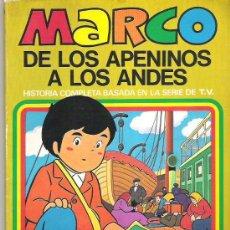 Tebeos: MARCO - DE LOS APENINOS A LOS ANDES ** Nº6 EL PASO DEL ECUADOR** 1977 BRUGUERA. Lote 12439096