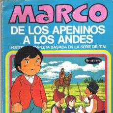 Tebeos: MARCO - DE LOS APENINOS A LOS ANDES ** Nº8 LAS LAGRIMAS DE FORINA ** 1977 BRUGUERA. Lote 12439117